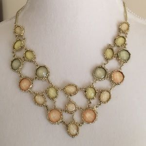 Jewelry - REDUCED! Gorgeous Goldtone Statement Necklace